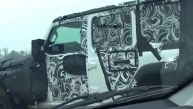 2018 Jeep Wrangler door hinges handles