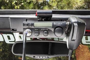 New Jeep Wrangler CB Radio Prewire