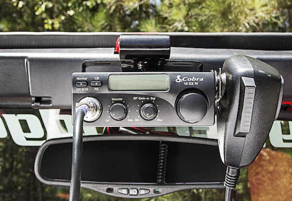 New Jeep Wrangler CB Radio Prewire