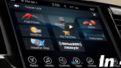 New2018 Wrangler screen navigation uconnect