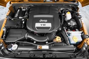 2018 Wrangler JL JLU engine top options