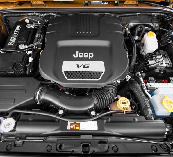 2018 Wrangler JL JLU engine top options