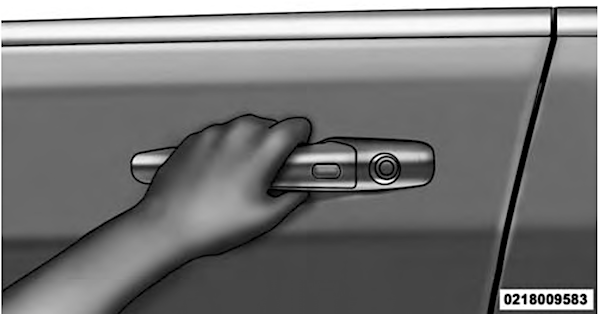 2018 Jeep Wrangler JL JLU remote keyless entry push button start