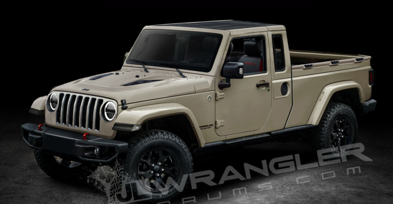 Our Latest 2019 Jeep Jt Pickup Info And Preview Images 2018 Jeep
