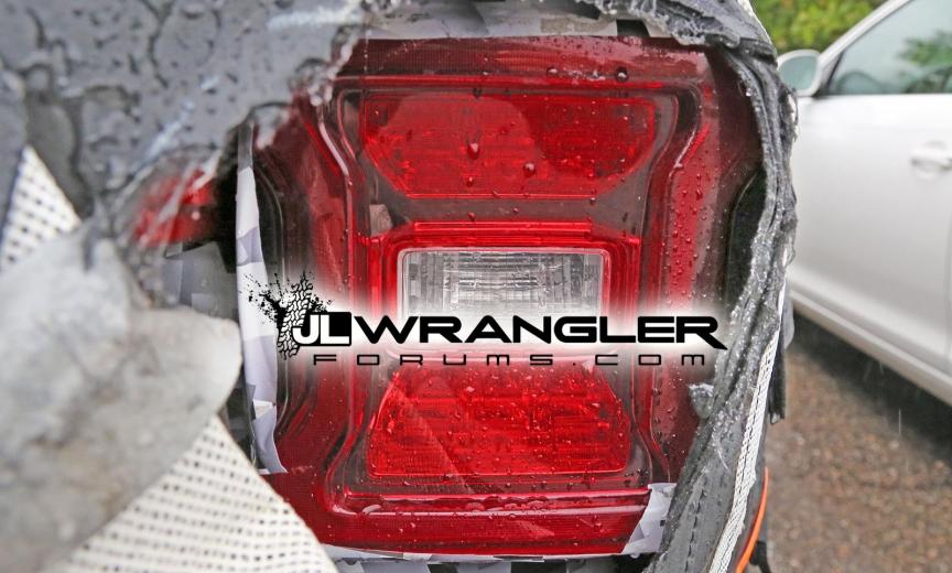 2018 Jeep Wrangler JL Tail Lights