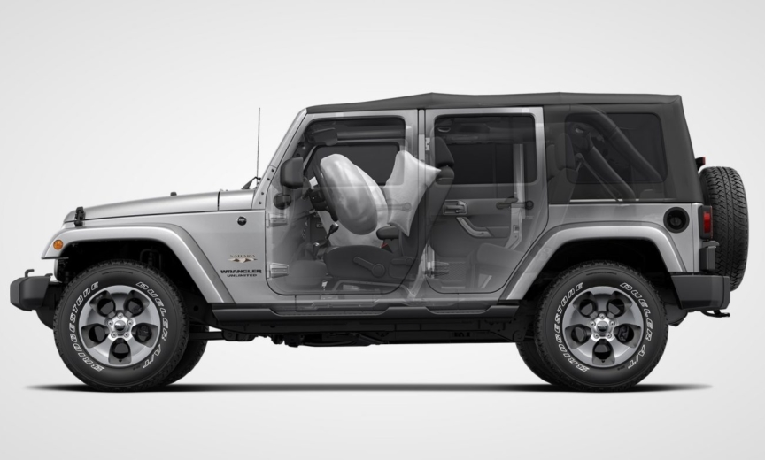 Side Airbags Standard For All 2018 Wranglers