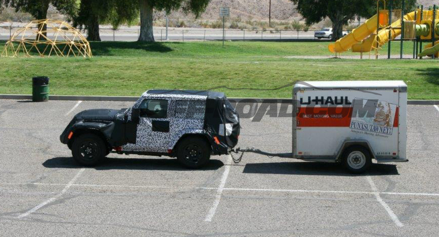 2018 JL Wrangler Tests Towing Capacity – 2018+ Jeep ...