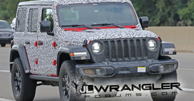 2018 Jeep Wrangler Jl Undresses To Reveal Production Design