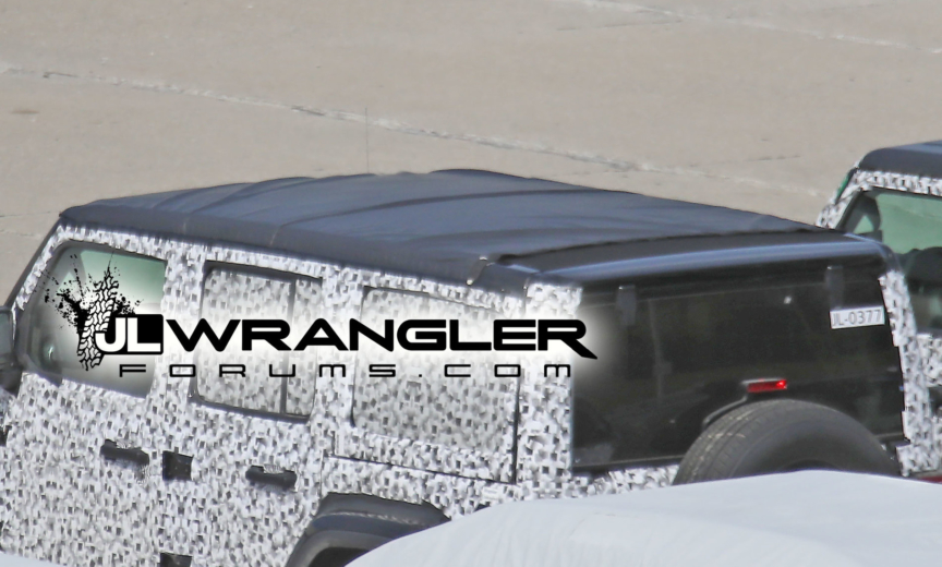 2018 Jeep Wrangler JL JLU power top, hard top, soft top
