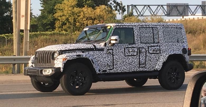 2018 Jeep Wrangler Unlimited (JLU) in Green