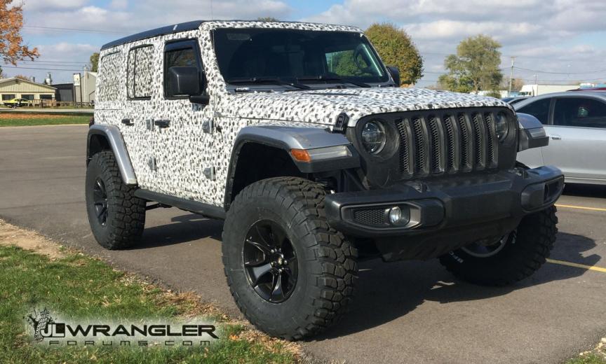 Jeep Lift Kits >> JL Wrangler on 3 Inch Mopar Lift Kit, Mopar Wheels and 37 Inch Tires – 2018+ Jeep Wrangler (JL ...