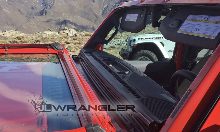 First Look At New Folding Windshield And Soft Top Open Air