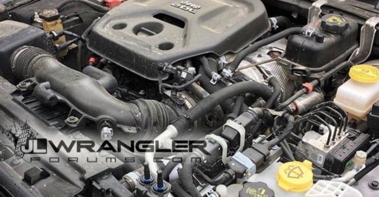 2018 Jeep Wrangler JL 2.0L 4-cylinder turbo Hurricane Engine