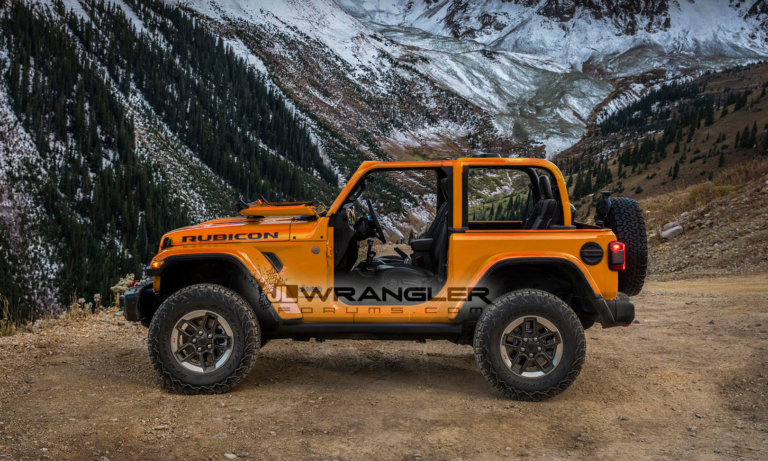 2018 Jeep Wrangler JL JLU Colors