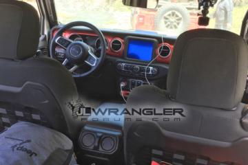 2018 Jeep Wrangler JL JLU Interior