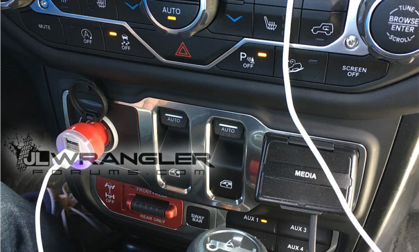New Jeep Scrambler >> Here is the Center Stack and Dashboard Controls for the 2018 Wrangler JL – 2018+ Jeep Wrangler ...