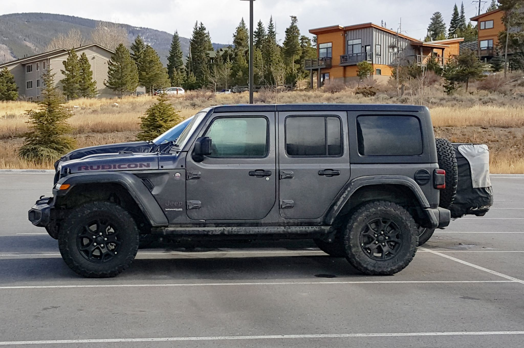 2018 Jeep Wrangler Unlimited Rubicon Spotted In Granite