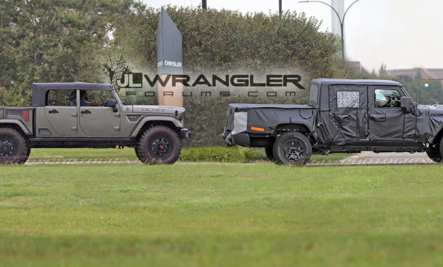 Jeep Wrangler Jlu >> More Confirmation of 2019 Jeep Scrambler Pickup Soft Top and Production Starting in a Year ...
