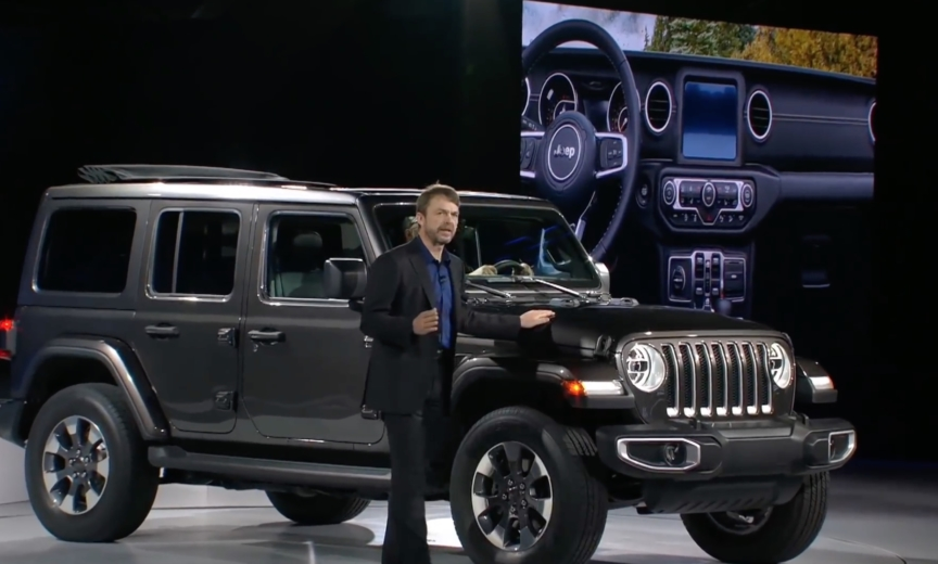 Plug-In Hybrid Electric Wrangler Coming in 2020 Announces ...