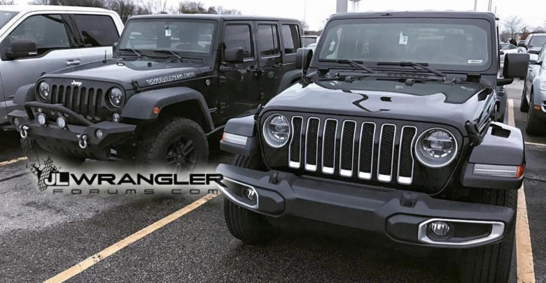Here Are The First Real Life Looks Of Jeep Wrangler Jl Versus Jk Viewed Side By See All Photos Giving Us A Great Look At S More