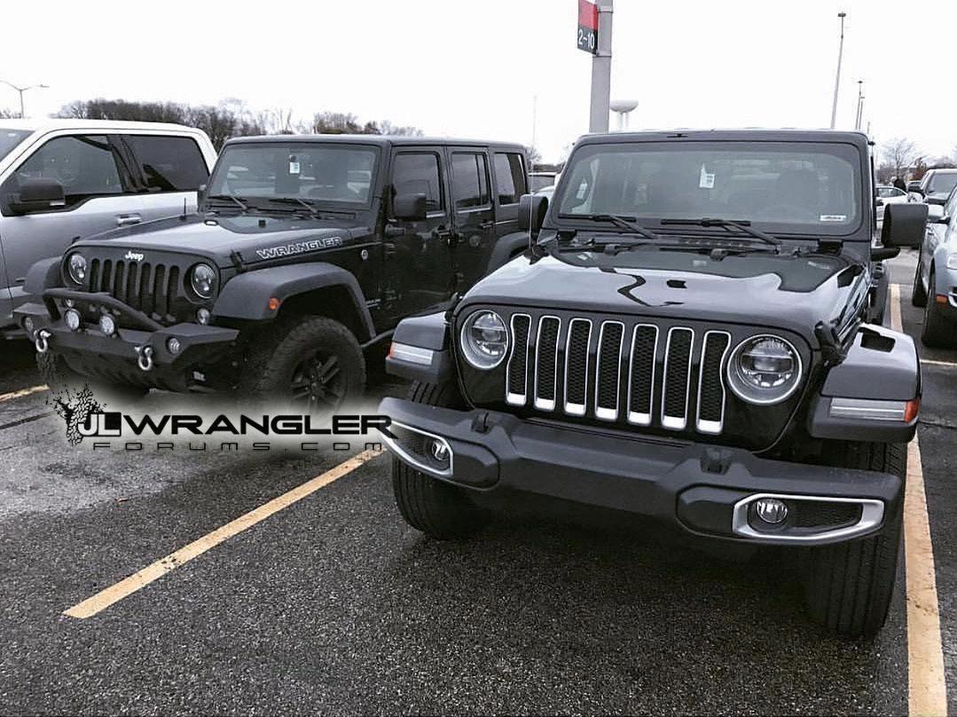 Difference Between Wrangler Models >> JL Versus JK Wrangler Compared Side by Side – 2018+ Jeep Wrangler (JL) Forums – New Jeep ...
