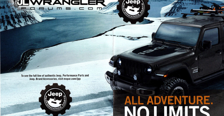 Mopar Parts and Pricing Released for JL Wrangler – 2018+