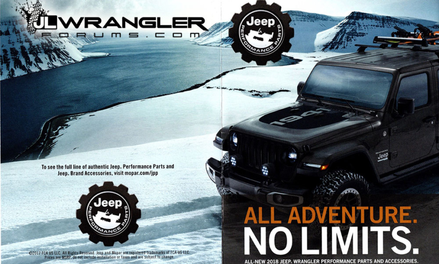 Mopar Parts And Pricing Released For JL Wrangler