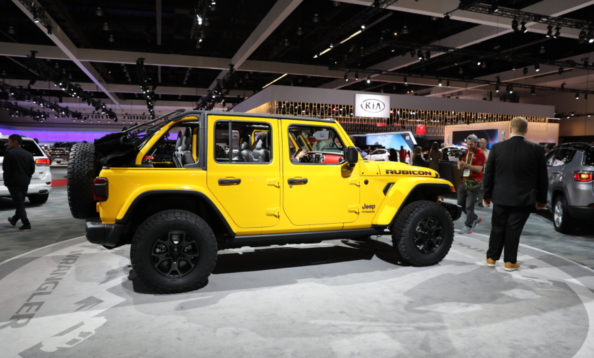 ICYMI: Hella Yella Jeep Wrangler Closeup – 2018+ Jeep ...