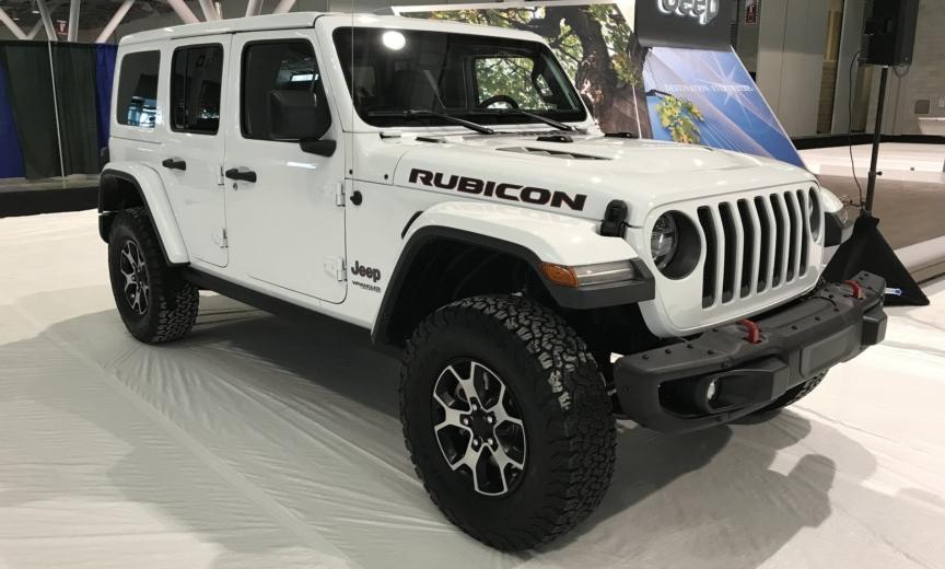 JLU Rubicon at New England Auto Show – 2018+ Jeep Wrangler ...