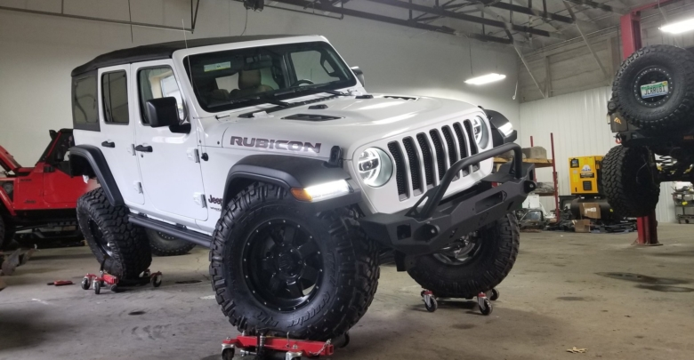 Do 37 Inch Tires and 2 Inch Lift Clear the JL Wrangler ...