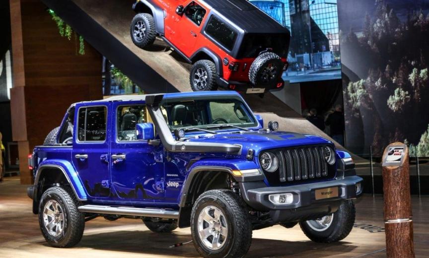 2018 Jeep Jl Mpg >> Jeep JL Wrangler in Ocean Blue With Mopar Parts at Geneva Motor Show – 2018+ Jeep Wrangler (JL ...
