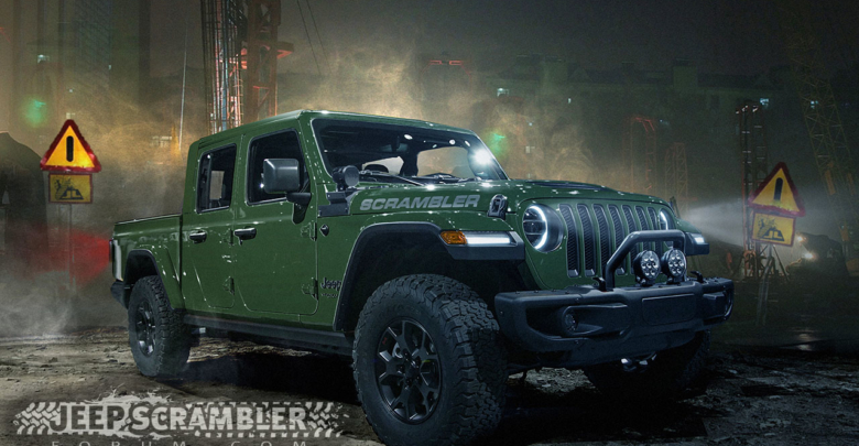 The 2019 Jeep Scrambler Pickup Truck Will Look Bada 2018
