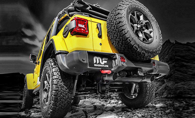 Magnaflow Exhausts Are Out To Improve JL Wrangler Sounds