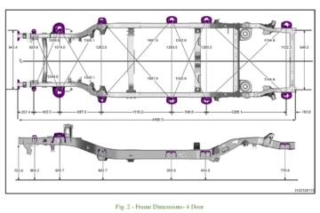 Frame Done together with Jeep Cj Frame Dimensions besides Jeepearlycj Dimensions additionally Jeep Wrangler Jl Cargo Trunk Dimensions Measurements X additionally D Ford Ranger Frame Dimensions Chassis Design Framedimensions Ex le. on jeep wrangler tj frame dimensions