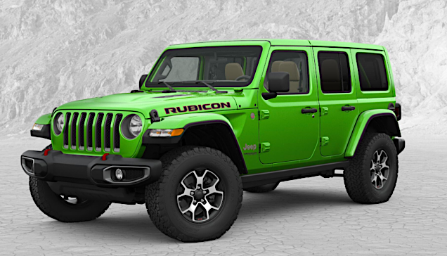Jeep Wrangler Paint >> Mojito! JL Open for Orders (Again) – 2018+ Jeep Wrangler (JL) Forums – New Jeep Wrangler (JL ...
