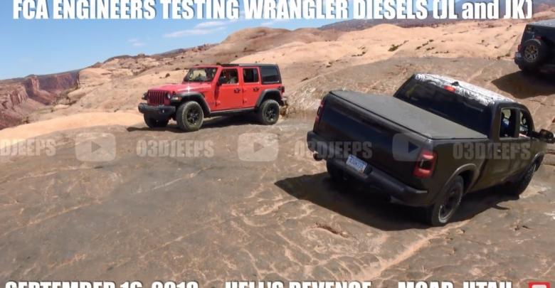 Video: 2019 Diesel Jeep Wrangler JL Testing With Custom JK