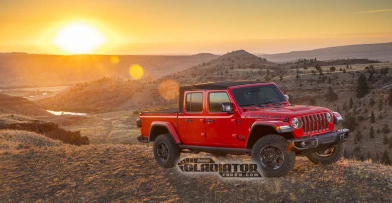 2020 Jeep Gladiator Pickup Jt Revealed 2018 Jeep Wrangler