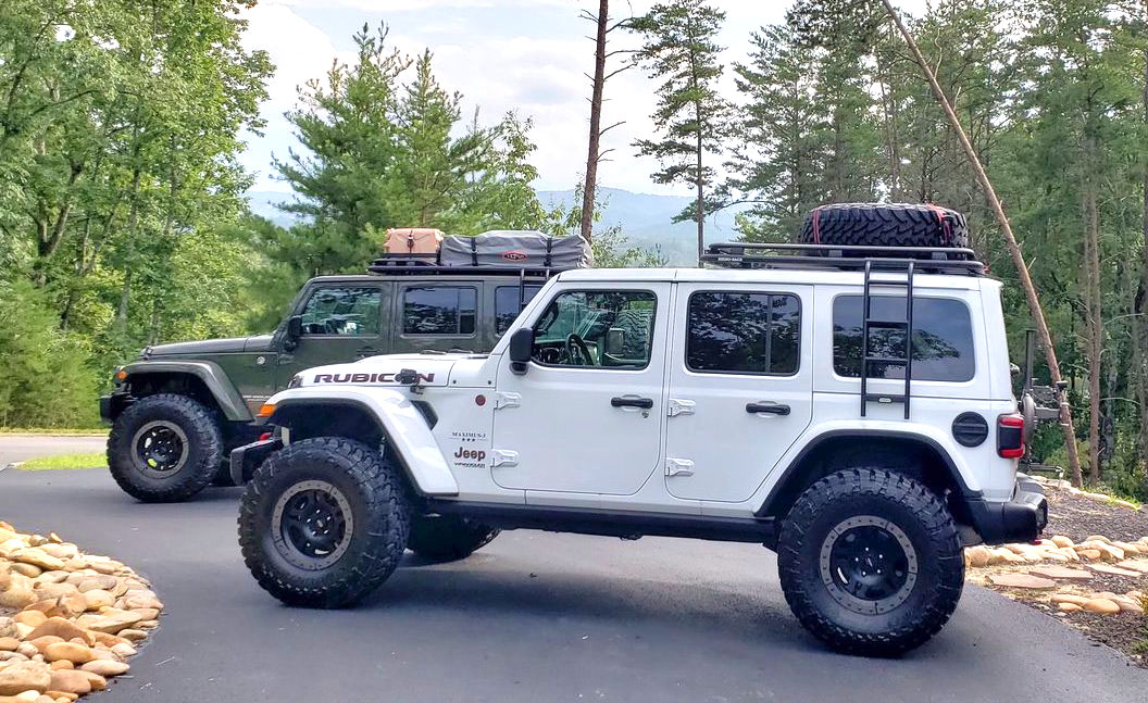 Jeep Jl Roof Rack With Ladder