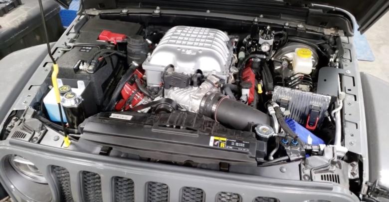 Jeep Wrangler Hemi >> Hemi Hellcat V8 Powered Jeep Jl Wrangler Conversion Yes