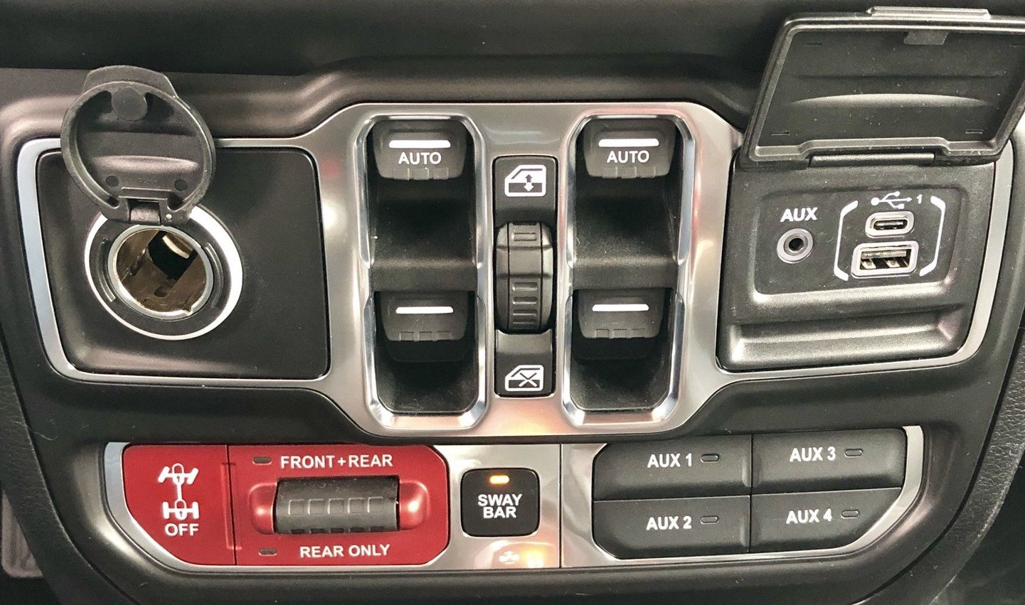 Add One-Touch Up Auto Windows to Your Jeep JL – 2018+ Jeep ...