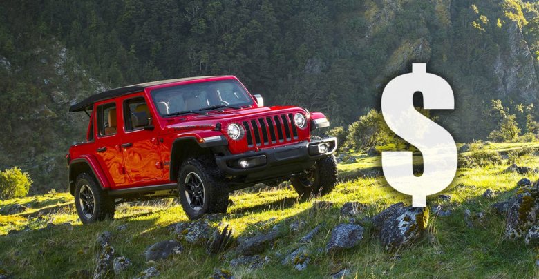 Kelley Book Is Predicting That The Jeep Wrangler Jl Will Have Lowest 5 Year Cost Of Ownership All Off Road Suv Crossovers