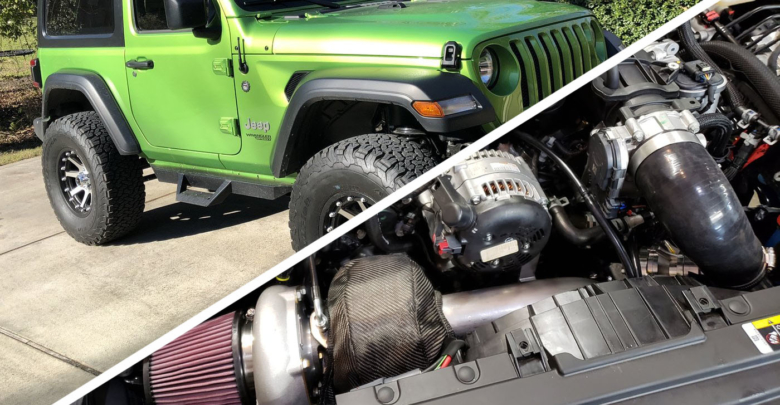 A Stage 2 Turbo Kit S This Little Green Monster Jeep Jl