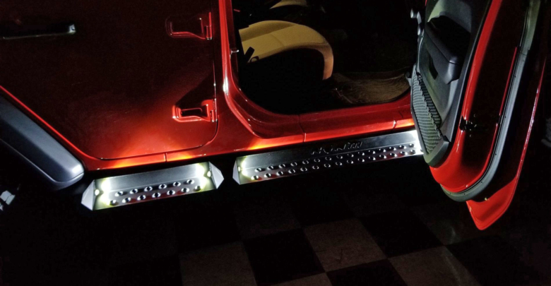 illuminated side steps add both functionality and looks to the jeep jl  wrangler, but for those not familiar with wiring, adding the lighting can  be somewhat