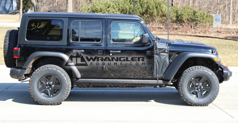 2021 Jeep Wrangler Plug-in Hybrid >> 2020 Jeep Jl Wrangler Phev Plug In Hybrid First Sighting