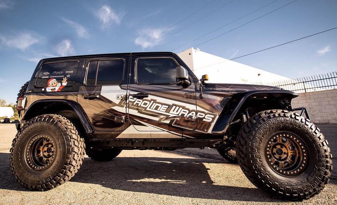 Jeep Jl Graphics Kits By Proline Wraps 2018 Jeep