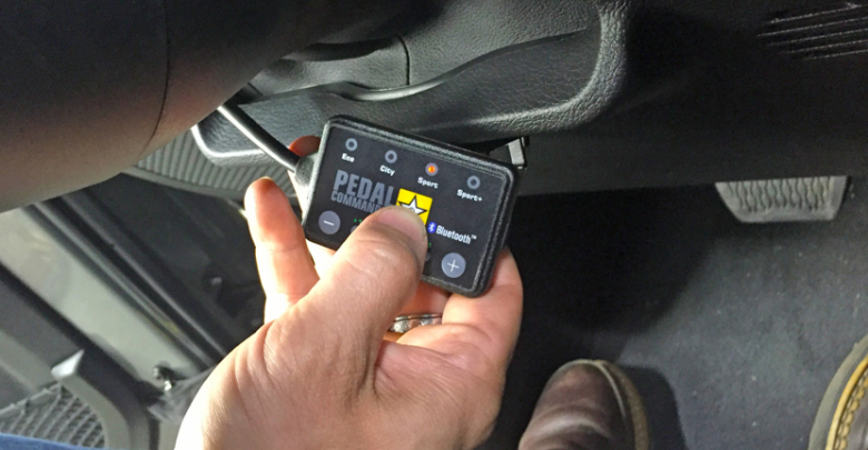 Pedal Commander Can Quicken or Delay Throttle Response on ...