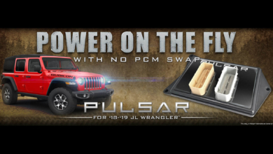 Pulsar Module Gives Gains And Programmer Control For The Jeep Jl