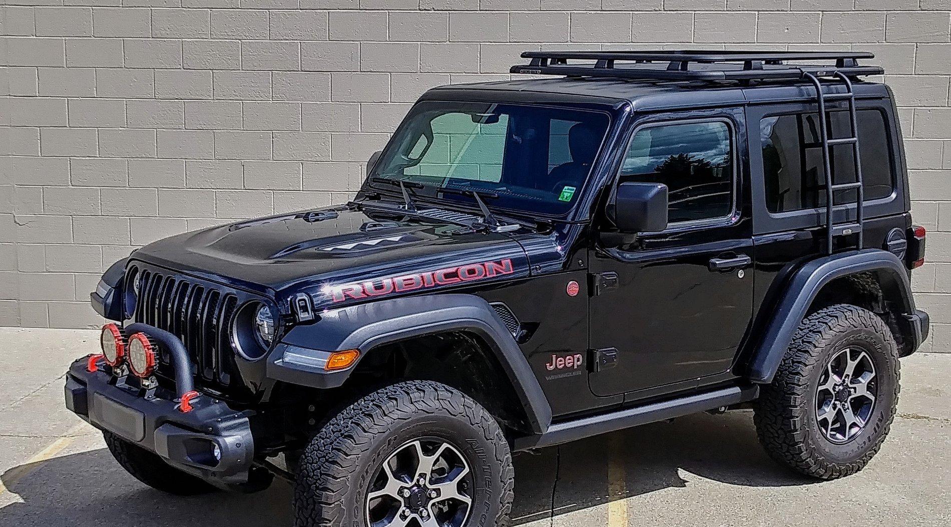 Maximus 3 Rack For 2 Door Jl First Look 2018 Jeep